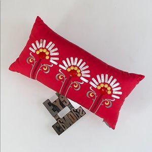 ECHO Rectangular Embellished Decorative Pillow